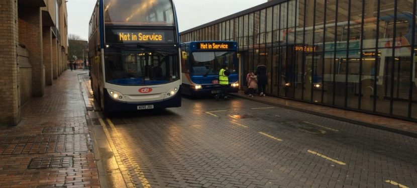 """Stagecoach buses are hopeless……"""
