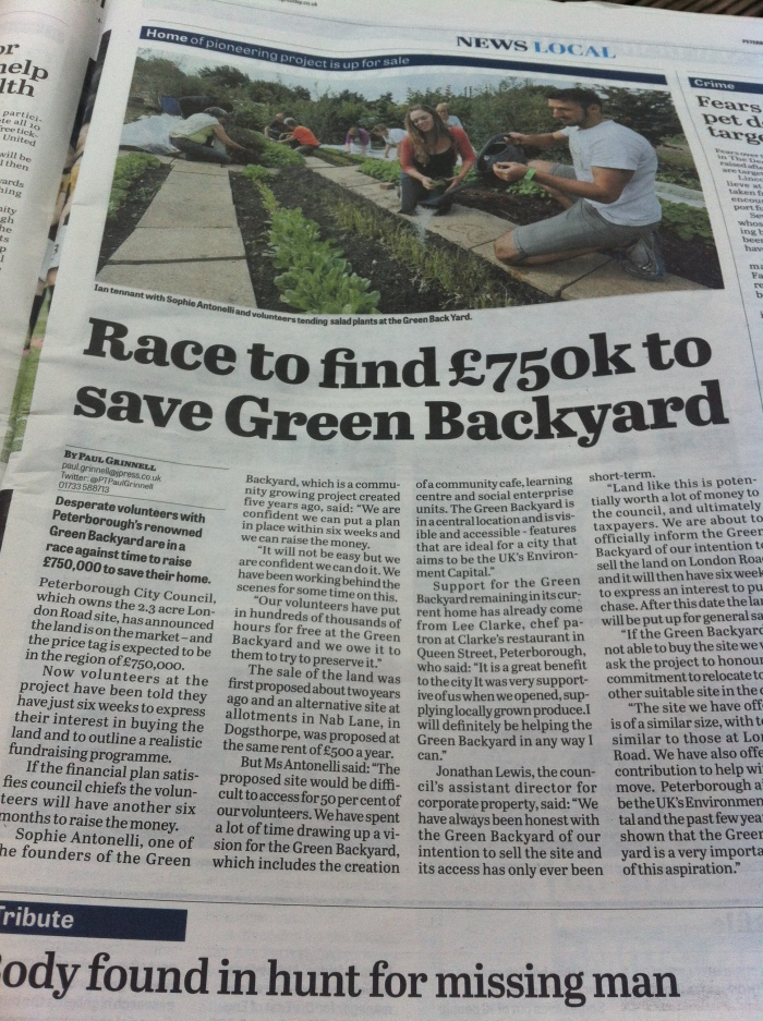 Green Backyard