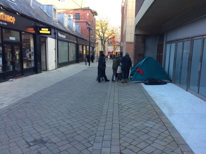200% increase in homelesshouseholds!