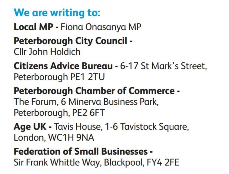 Co-Op Bank Peterborough