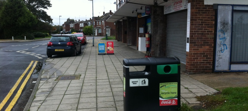 #FlyTipping persists at #StorringtonWay shops!
