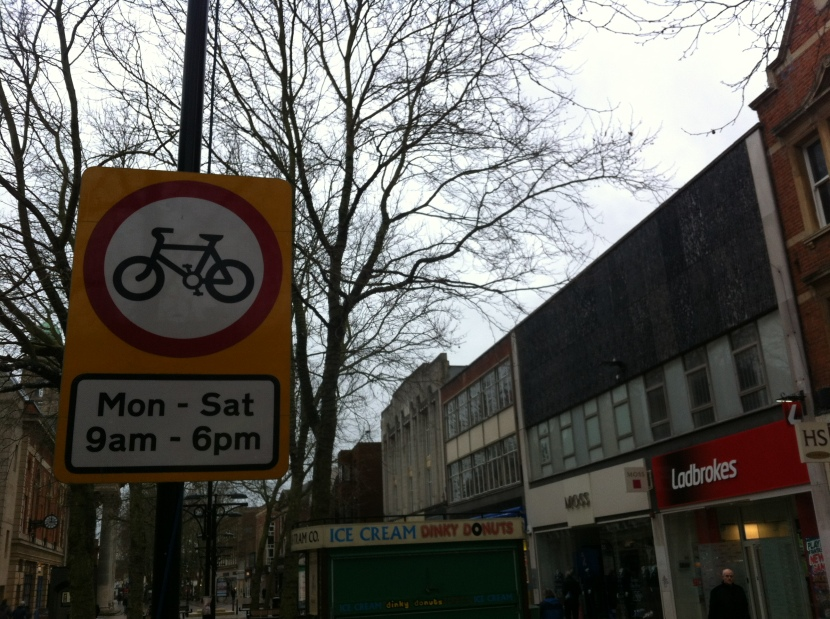 Council boasting that it fines cyclists! #EnvironmentalCapitalMyArse
