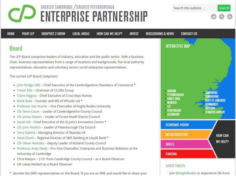Greater Cambridge Greater Peterborough Local Enterprise Partnership