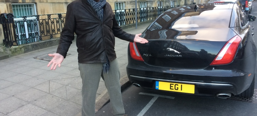 Isn't it time we flogged the Mayor's car Reg…. esp at this price???