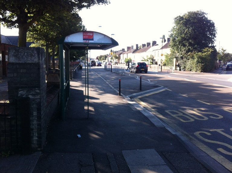 Bus Stop in Peterborough