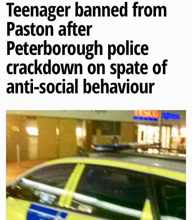 Police in Peterborough